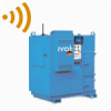 Larger industrial extraction systems with wireless technology